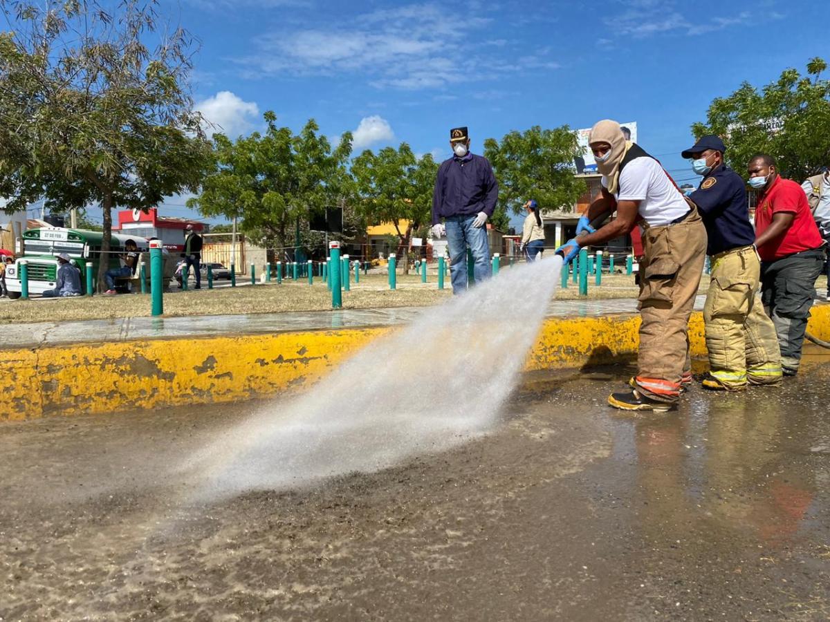 Operativo de limpieza en la parte Oeste dispuesto por Abel Martínez se desarrolla conéxito