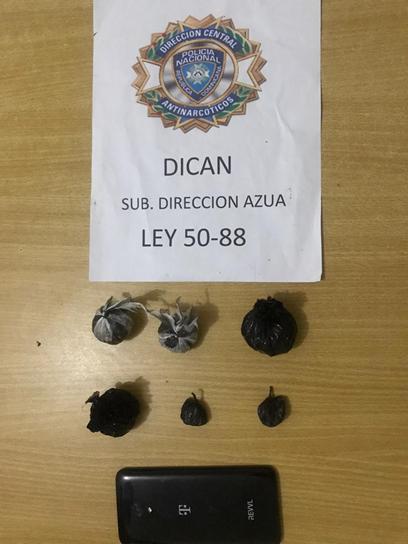 DICAN decomisa mas de 200 gramos de droga enSJM