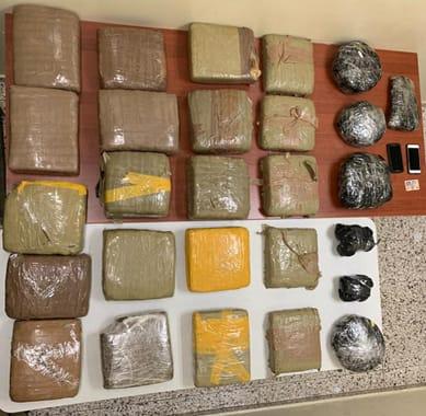 DICAN decomisa mas de 700 gramos de droga enoperativos