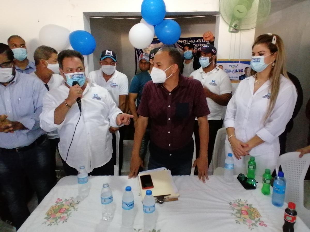 Realizan encuentro en apoyo al candidato a diputado MiguelGutiérrez