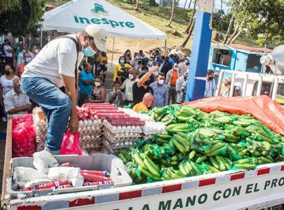 Agricultura e Inespre inician ventas populares en distintos puntos delpaís
