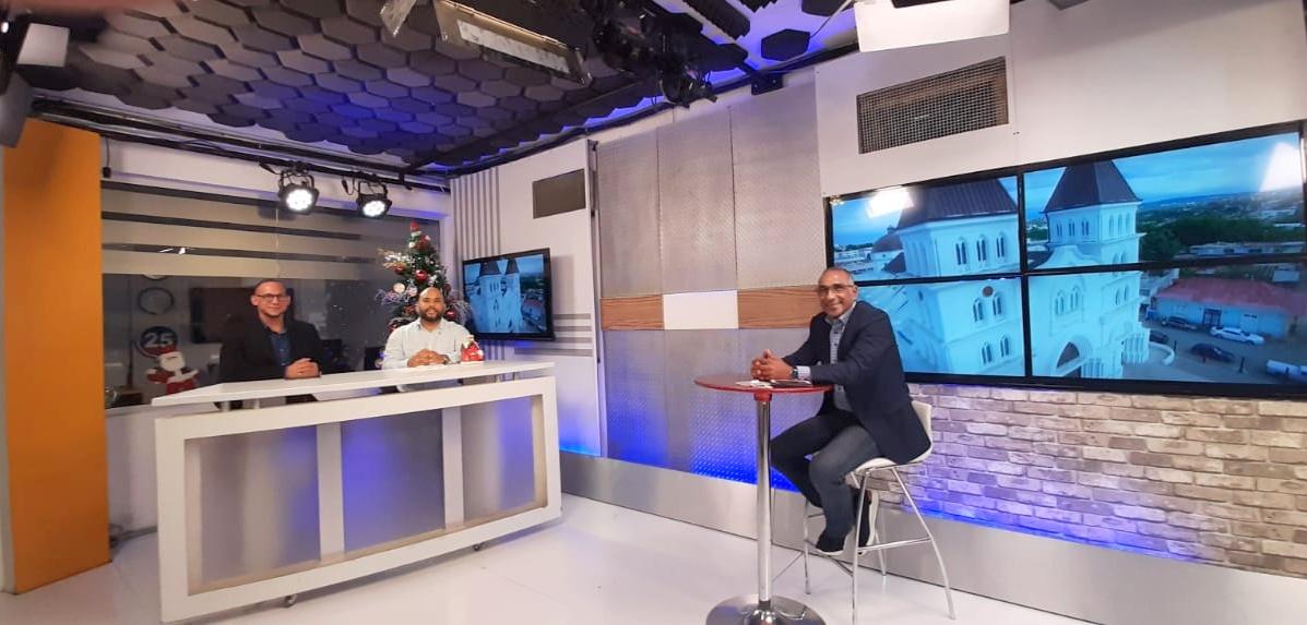 Alexis Sosa director regional del Ministerio de Obras Públicas anuncia obras para Santiago y elCibao