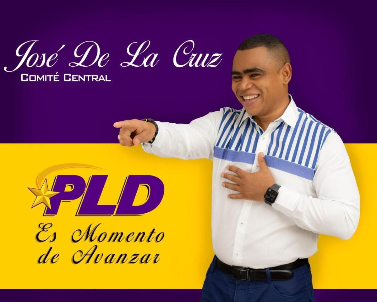 José de la Cruz oficializa su campaña para ser miembro del Comité Central delPLD