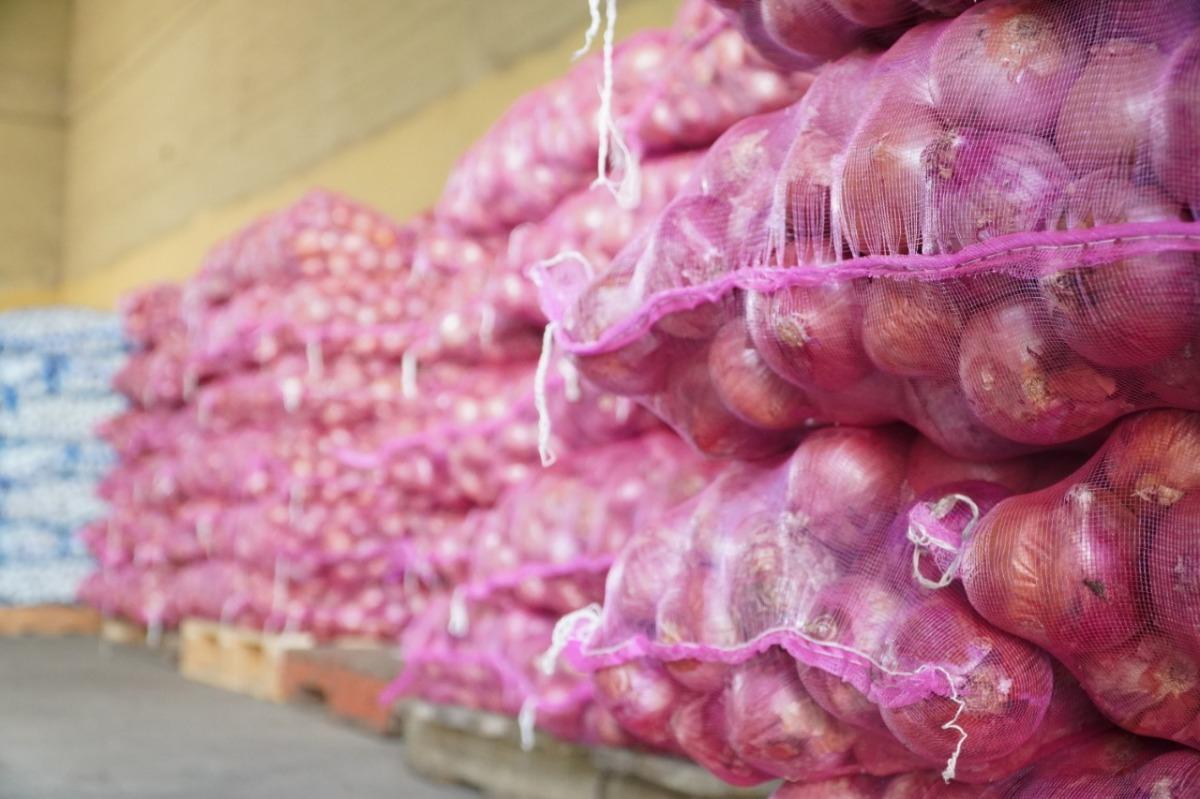 Inespre vende más de 6 mil quintales de cebolla a 10 pesos lalibra