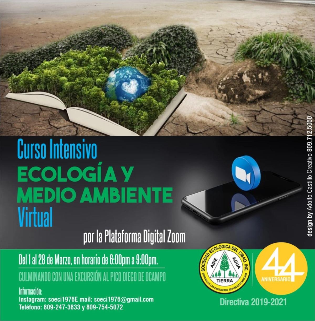 SOECI imparte Curso Intensivo de Ecología y MedioAmbiente