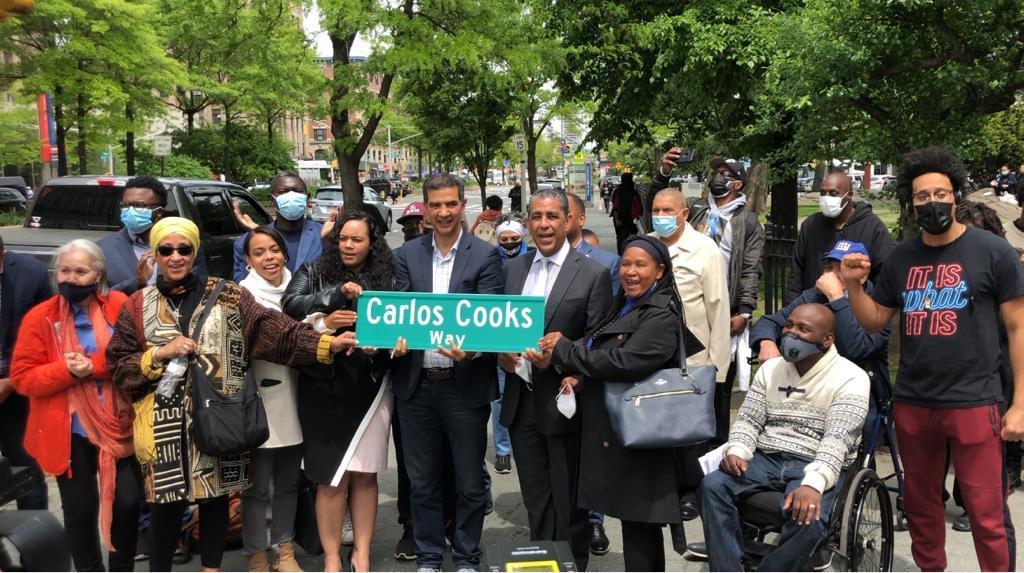 Desvelan rótulo en memoria del líder dominicano CarlosCooks