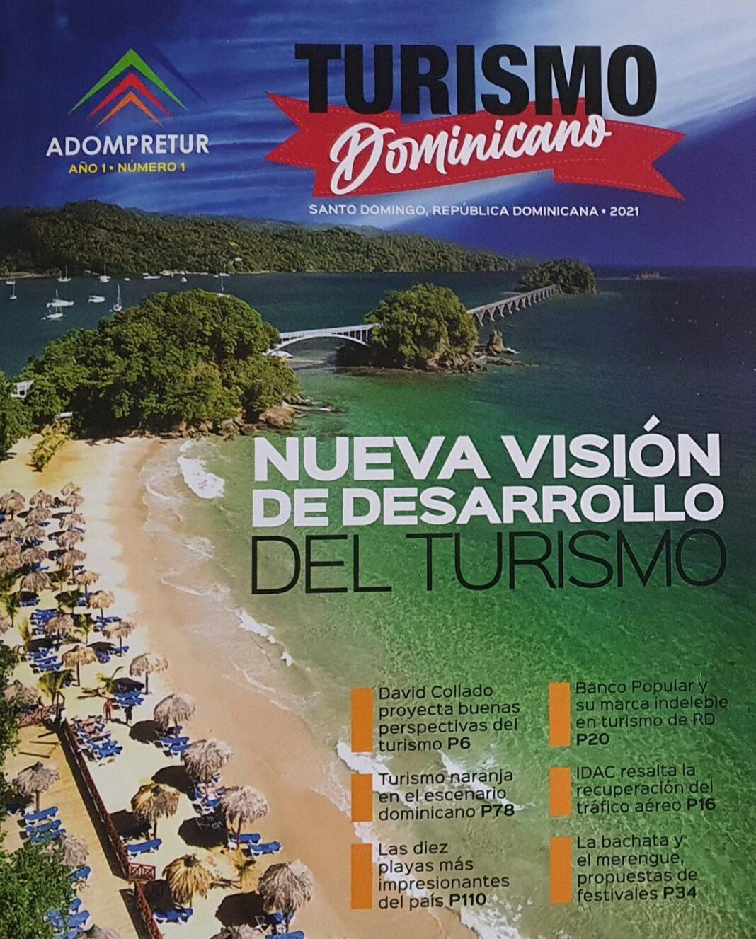 """Adompretur presenta al liderazgo turístico su nueva revista """"Turísmo Dominicano"""""""