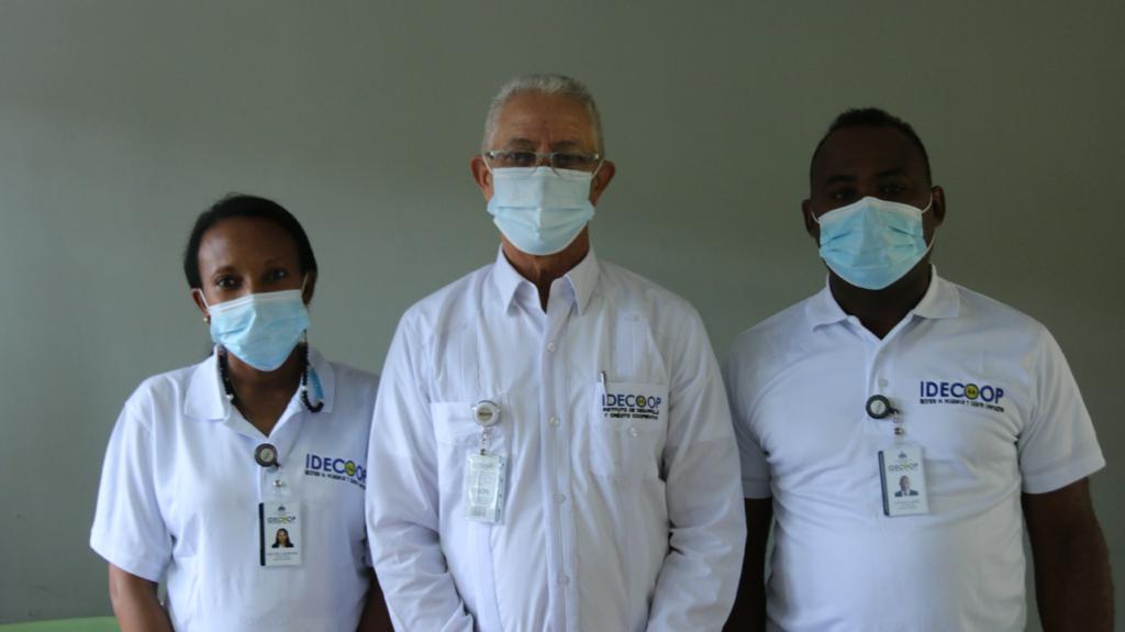 Idecoop llama a vacunarse durante operativo entrega de artículos debiosegurodad