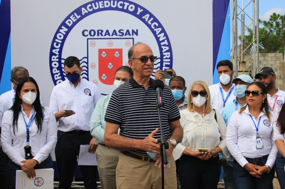 Coraasan inicia solución de servicios de agua potable y alcantarillado sanitario en sectores zonasur